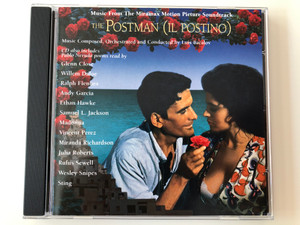 Music From The Miramax Motion Picture Soundtrack / The Postman (Il Postino) / Music Composed, Orchestrated and Conducted by Luis Bacalov ‎/ CD also includes Pablo Neruda poems / Edel ‎Audio CD 1995 / 0120292HWR