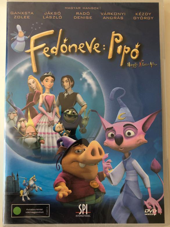 Happily N'ever After DVD 2006 Fedőneve: Pipő / Directed by Paul J. Bolger / Starring: Sarah Michelle Gellar, Freddie Prinze, Jr., Andy Dick, Wallace Shawn (5999544155909)