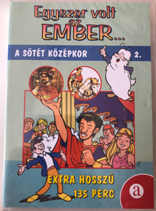 Il était une fois l'homme 2. DVD Egyszer volt az ember... 2. A sötét középkor (Once Upon a Time... Man ) / Created by Albert Barillé / Narrated by Roger Carel / Animated World history for children (5999550304179)