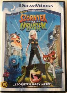 Monsters VS Aliens DVD 2009 Szörnyek az Űrlények ellen / Directed by Rob Letterman, Conrad Vernon / Starring: Reese Witherspoon, Seth Rogen, Hugh Laurie, Will Arnett (5996051310555)