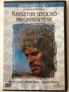 Krisztus utolsó megkísértése - The Last Temptation of Christ DVD 1988 / Directed by Martin Scorsese / Starring: Willem Dafoe, Harvey Keitel, Barbara Hershey, Harry Dean Stanton, David Bowie (5996051040827)