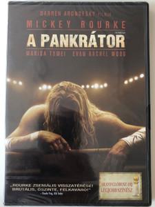 The Wrestler DVD 2008 A pankrátor / Directed by Darren Aronofsky / Starring: Mickey Rourke, Marisa Tomei, Evan Rachel Wood (5999075600763)
