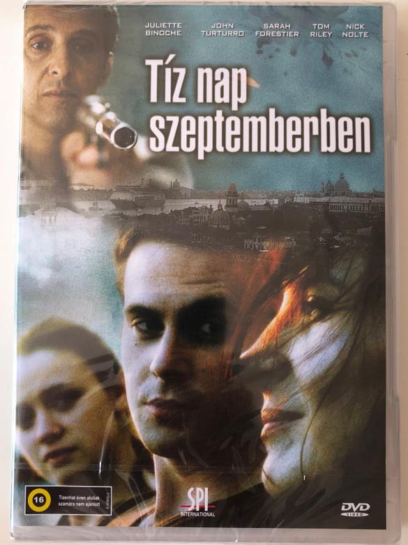 Quelques jours en septembre DVD 2006 Tíz nap szeptemberben (A Few Days in September) / Directed by Santiago Amigorena / Starring: Juliette Binoche, John Turturro, Sara Forestier, Tom Riley (5999544155893)