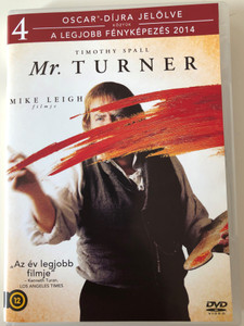 Mr. Turner DVD 2014 / Directed by Mike Leigh / Starring: Timothy Spall, Dorothy Atkinson, Marion Bailey, Paul Jesson, Lesley Manville (5996051210107)