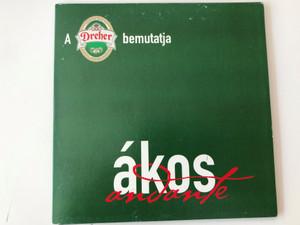 A Dreher bemutatja / Ákos Adante / FalconMedia Audio CD 2003 / 5998638323323