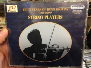 Fifty Years Of Hungaroton (1951-2001) - String Players / Hungaroton Classic 3x Audio CD 2001 Mono, Stereo / HCD 32091-93