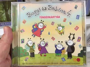 Bogyo és Baboca 4. - Tunderkartyak / Bartos Erika, Pogany Judit, Kifli Zenekar, Kedd Animacios Studio / Audio CD / 5999563025498