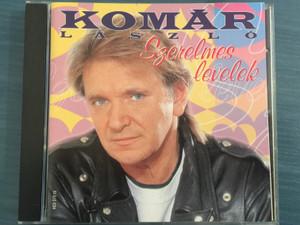 Komár László – Szerelmes Levelek / Gong Audio CD 1998 / HCD 37910