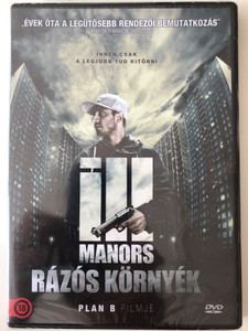 Ill manors DVD 2012 Rázós környék / Directed by Ben Drew / Starring: Riz Ahmed, Ed Skrein, Keef Coggins, Andrew Okello, Lee Allen (5999546336139)