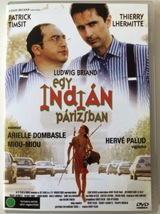 Un indien dans la ville DVD 1994 Egy indián Párizsban (An Indian in the city) / Directed by Hervé Palud / Starring: Thierry Lhermitte, Patrick Timsit, Ludwig Briand, Miou-Miou, Arielle Dombasle (5999545561433)