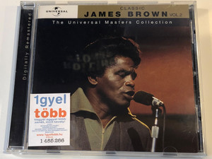 James Brown – Classic Vol.2 / The Universal Masters Collection / Polydor Audio CD 2003 / 589 961-2