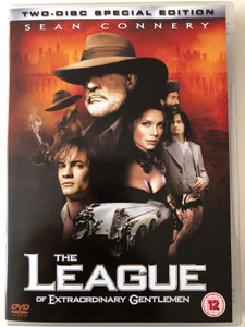 The League of extraordinary Gentlemen DVD 2003 Two Disc Special Edition / Directed by Stephen Norrington / Starring: Sean Connery, Shane West, Stuart Townsend, Peta Wilson, Jason Flemyng (5039036015899)