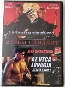 Martial Law 2 (1991) - Street Knight (1993) 2 in 1 DVD A küzdelem törvénye 2. - Az Utca lovagja / Directed by Kurt Anderson, Albert Magnoli / Starring: Jeff Wincott, Cynthia Rothrock, Jeff Speakman, Christopher Neame (5999884800026)