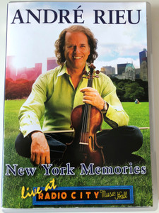 André Rieu DVD 2006 New York Memories - Live at Radio City Music Hall / Directed by Pit Weyrich / Universal - Polydor (0602517135796)
