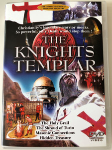 The Knights Templar DVD 2001 The Holy grail, The Shroud of Turin, Masonic Connections, Hidden Treasure / Narrated by Art Malik / Sophistory (5020609005522)