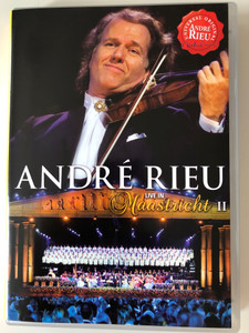 André Rieu DVD 2008 Live in Maastricht II / Directed by Pit Weyrich / 76 trombones, Nessun dorma, Il Silenzio, Twelve robbers (602517905733)
