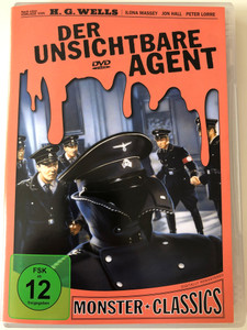 Der Unsichtbare Agent DVD 1942 Invisible Agent - Monster Classics / Directed by Edwin L. Marin / Based on the novel by H.G. Wells / Starring: Ilona Massey Jon Hall (4020628977719)