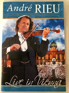 André Rieu & the Johann Strauss Orchestra DVD 2007 Live in Vienna / Directed by Pit Weyrich / Tritsch Tratsch Polka, Komm Zigany, Csárdás, Porgi Amor, Morgenblätter, The Sound of Music (0602517584242)