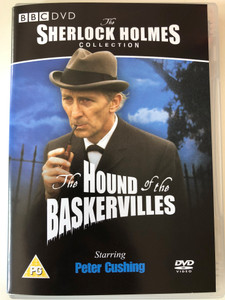 Sherlock Holmes Collection - The Hound of the Baskervilles DVD 1968 BBC / Directed by Graham Evans / Starring: Peter Cushing, Nigel Stock, Gary Raymond, Gabriella Licudi (5014503144227)