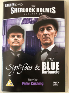 Sherlock Holmes Collection - The Sign of four & The Blue Carbuncle DVD 1968 BBC / Directed by William Sterling, Bill Bain / Starring: Peter Cushing, Nigel Stock (5014503144326)