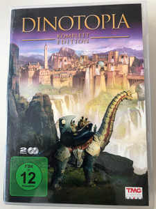 Dinotopia 2 x DVD 2002 Complete Edition / German Release / Directed by Marco Brambilla / Starring: Wentworth Miller, Tyron Leitso, David Thewlis, Katie Carr, Jim Carter (886919499698)