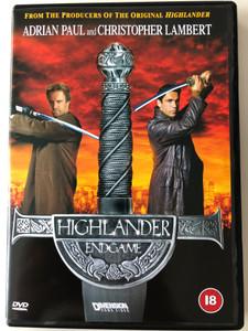 Highlander - endgame DVD 2000 / Directed by Douglas Aarniokoski / Starring: Adrian Paul, Christopher Lambert, Bruce Payne, Lisa Barbuscia (5017188883542)