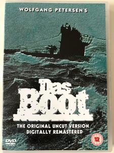 Das Boot 2xDVD 1981 The Boat / Directed by Wolfgang Petersen / Starring: Jürgen Prochnow, Herbert Grönemeyer, Klaus Wennemann / Original uncut version (5035822145511)