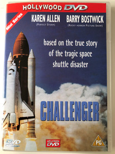Challenger DVD 1990 / Directed by Glenn Jordan / Starring: Karen Allen, Barry Bostwick, Richard Jenkins, Joe Morton (5017633200481)