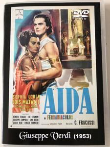 Aida in Ferraniacolor DVD 1953 Giuseppe Verdi / Directed by Clemente Fracassi / Rome Opera ballet Corps / Starring> Sophia Loren, Renata Tebaldi, Lois Maxwell, Ebe Stignani / Qualiton DVD-616 (675754932923)
