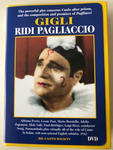 Beniamino GIGLI - Ridi PAGLIACCIO DVD 1942 / Conducted by Luigi Ricci / Bel Canto Society BCS-D0513 / Starring: Alida Valli, Paul Hörbiger / Black & White (789984051368)