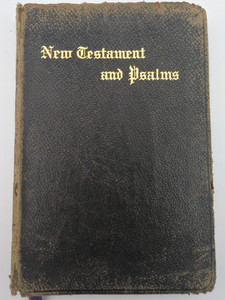 The Red Letter New Testament and Psalms / Authorized or King James Version / John C. Winston Company / With Color illustrations (KJVNTRedletter)