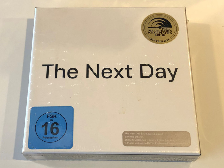 The Next Day / ISO Records 2x Audio CD + DVD 2013 / 88883787812