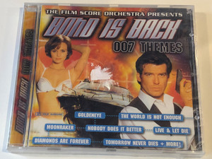 The Film Score Orchestra presents - Bond is back - 007 Themes / Goldeneye, The World is not enough, Moonraker, Nobody Does It Better, Live & Let Die, Diamonds Are Forever, Tomorrow Never Dies + More! / GB Records Audio CD / 5055015800430