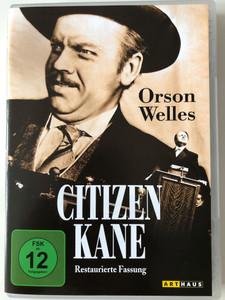 Citizen Kane DVD 1941 Restaurierte Fassung - German release Restored Version / Directed by Orson Welles / Starring: Orson Welles, Joseph Cotten, Dorothy Comingore, Everett Sloane, Ray Collins (4006680044736)