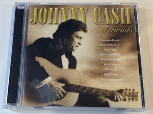 Johnny Cash And Friends / Emmylou Harris, Hank Williams Jr., Tom T. Hall, John Carter Cash, Waylon Jennings, Jessi Colter, Roy Acuff, June Carter, The Carter Family / Spectrum Music Audio CD 2002 / 544 982-2
