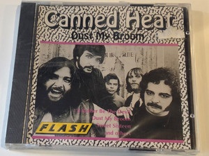 Canned Heat ‎– Dust My Broom / I'd Rather Be The Devil, Dust My Broom, Sweet Sixteen, and others / Flash Audio CD Stereo / 8350-2