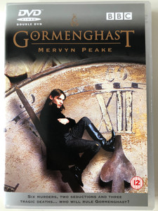 Gormenghast 2 x DVD 2000 BBC TV serial / Directed by Andy Wilson / Starring: Jonathan Rhys Meyers, Celia Imrie, Ian Richardson, Neve McIntosh (5014503101725)
