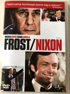 Frost/Nixon DVD 2008 Directed by Ron Howard / Starring: Frank Langella, Michael Sheen, Kevin Bacon, Rebecca Hall, Toby Jones (5996051051137)