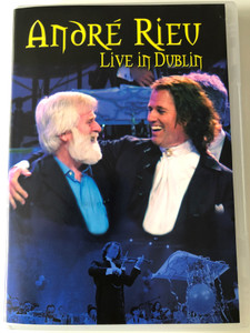 André Rieu - Live in Dublin DVD 2003 / Directed by Jean-Philippe Rieu / Dark Eyes, The Merry Widow, The Blue Danube, All men shall be brothers, Lullaby / Universal - Polydor (0602498658741)