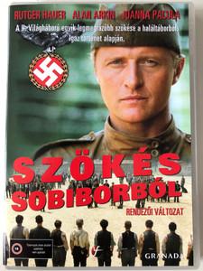 Escape from Sobibor DVD 1987 Szökés Sobiborból / Directed by Jack Gold / Starring: Alan Arkin, Joanna Pacuła, Rutger Hauer, Hartmut Becker (5999546331028)