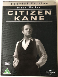 Citizen Kane - Special Edition 2DVD 1941 / Directed by Orson Welles / Starring: Orson Welles, Joseph Cotten, Dorothy Comingore, Everett Sloane, Ray Collins (5050582012552)
