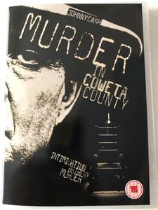 Murder in Coweta County DVD 1983 / Directed by Gary Nelson / Starring: Johnny Cash, Andy Griffith, Earl Hindman (5017633080007)