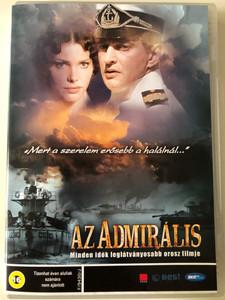 Admiral DVD 2008 Az admirális / Directed by Andrei Kravchuk / Starring: Konstantin Khabenskiy, Elizaveta Boyarskaya, Sergey Bezrukov (5996492103433)