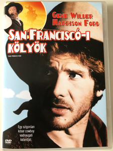 San Franciscó-i Kölyök - The Frisco Kid DVD 1979 / Directed by Robert Aldrich / Starring: Gene Wilder, Harrison Ford (5999048901569)
