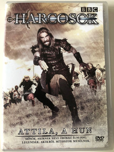 Warriors - Attila the Hun DVD Attila a Hun BBC Series / Directed by Mark Hedgecoe / Starring: Rory Mccann, Kevin Eldon, Michael Maloney, Allen Leech / AKA Heroes and Villains (5996473004827)