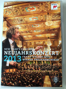 Neujahrskonzert 2013 DVD New Year's Concert / Conducted by Franz Welser-Möst / Directed by Karina Fibich / Live Recording from the Musikverein Vienna / Wiener Philharmoniker / Sony Classical (887654116697)