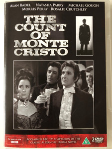 The Count of Monte Cristo 2x DVD 1964 BBC TV Series / Directed by Peter Hammond / Starring: Alan Badel, Natasha Parry, Michael Gough, Morris Perry, Rosalie Crutchley (5019322392385)