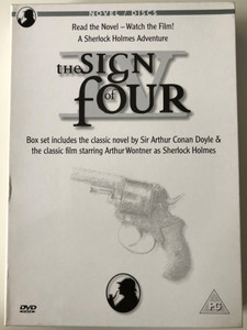 The Sign of Four Book & DVD BOX SET 1932 / Read the Novel - Watch the Film - A Sherlock Holmes Adventure / Written by Sir Arthur Conan Doyle / Directed by Graham Cutts / Starring: Arthur Wontner (5060036891695)
