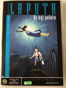 Castle in the Sky DVD 1986 Laputa - Az égi palota / Directed by Hayao Miyazaki / Starring: Mayumi Tanaka, Keiko Yokozawa, Kotoe Hatsui, Minori Terada / 天空の城ラピュタ (5998133183033)