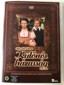 Különös házasság I-II rész DVD 1984 A Strange marriage Parts 1&2 / Hungarian TV Series / Directed by Zsurzs Éva / Starring: Benkő Péter, Mikó István, Bessenyei Ferenc, Kubik Anna (5999552560610)